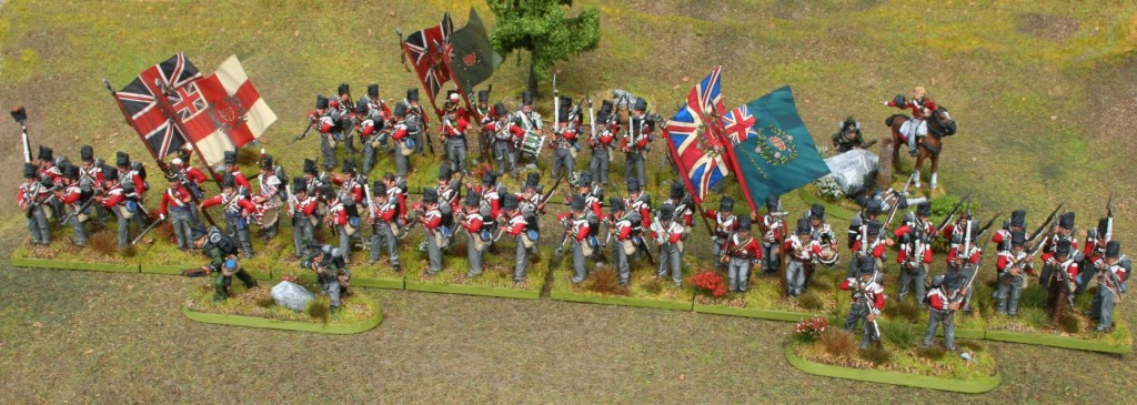 Perry Napoleonic British 5th Brigade