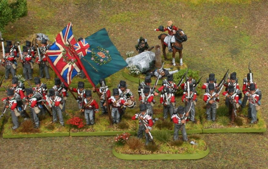 Perry Napoleonic British 69th Regiment 2