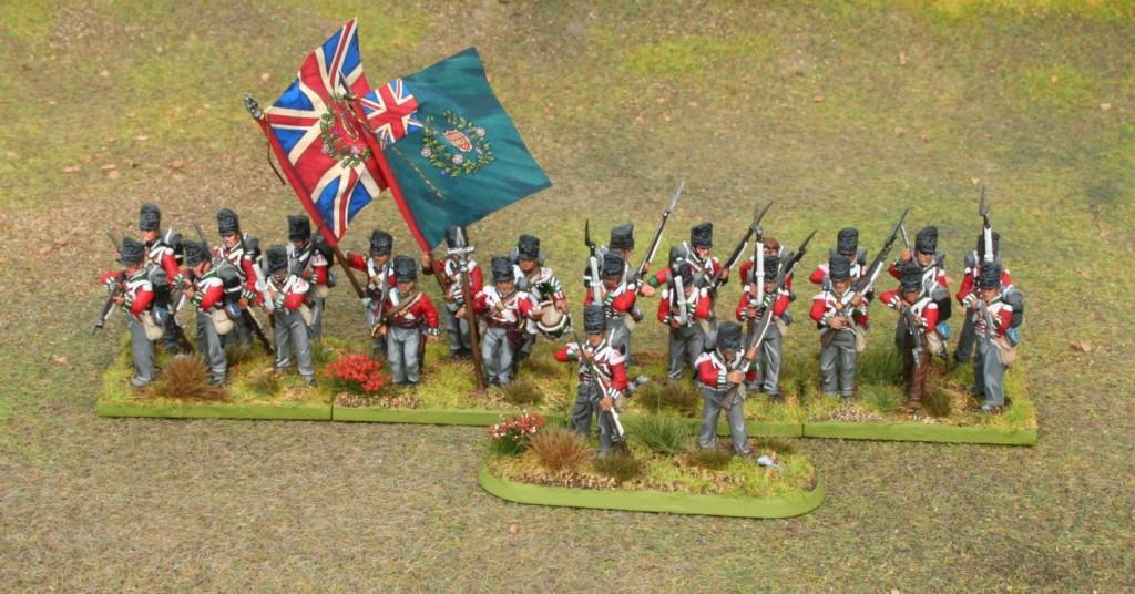 Perry Napoleonic British 73rd Regiment 1