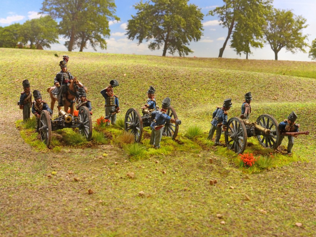Napoleonic British royal foot artillery from Perry Miniatures