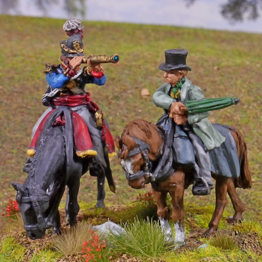 Napoleonic British general Picton from Perry Miniatures