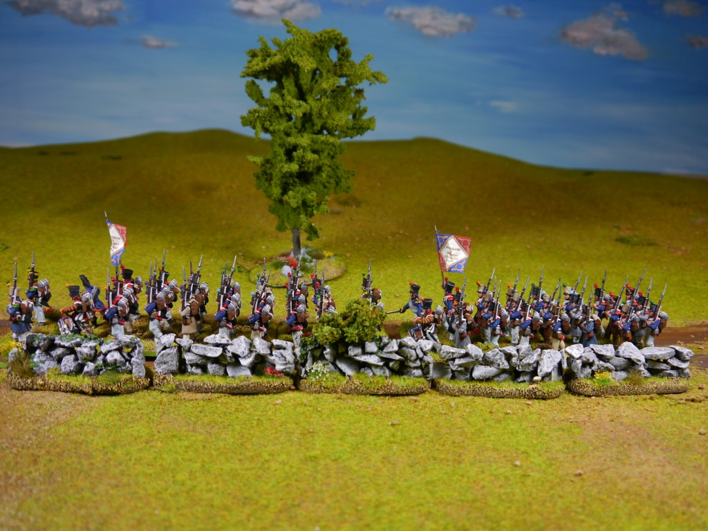 Perry Napoleonic French batallions