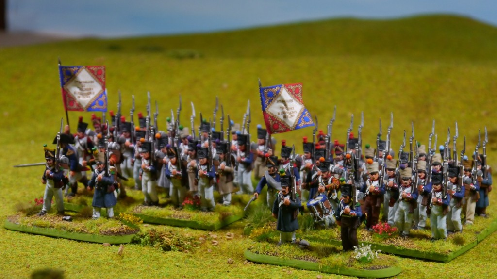 Perry Napoleonic French battalions