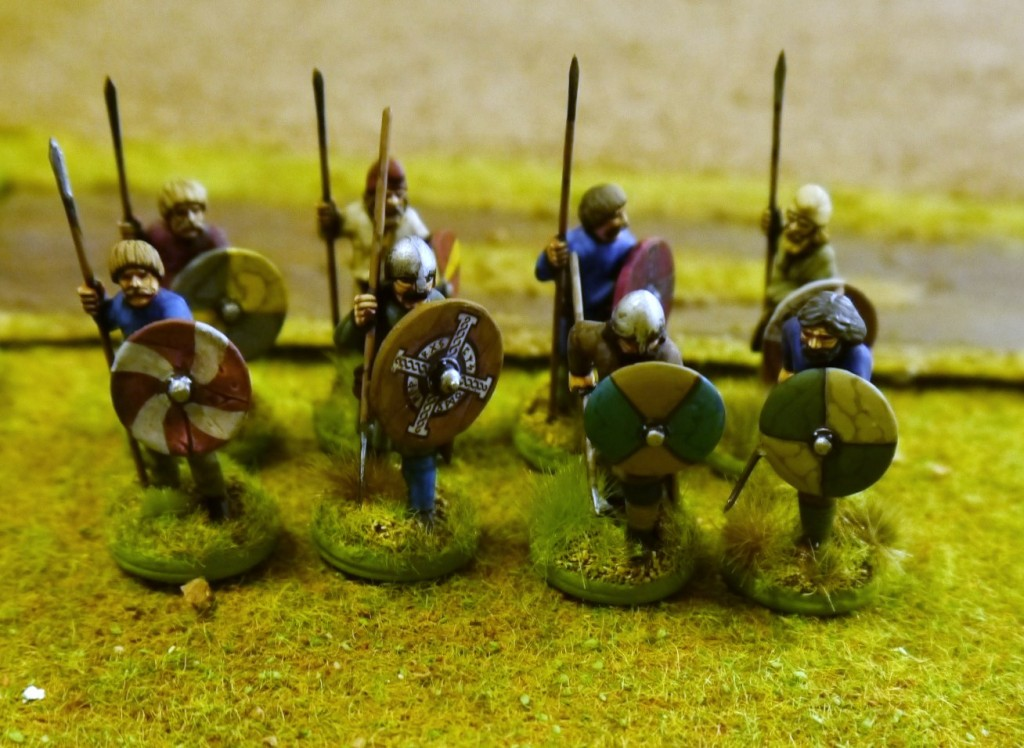 Part of my Anglo-Danish Warband (figures by Gripping Beast)