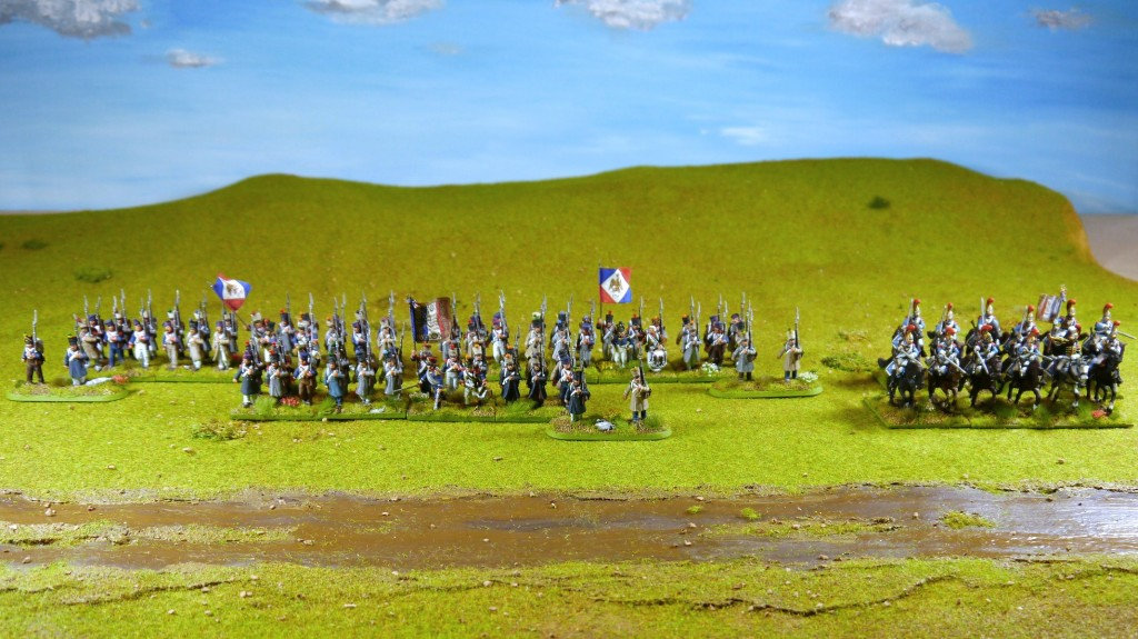 a French napoleonic regiment (Perry Miniatures)