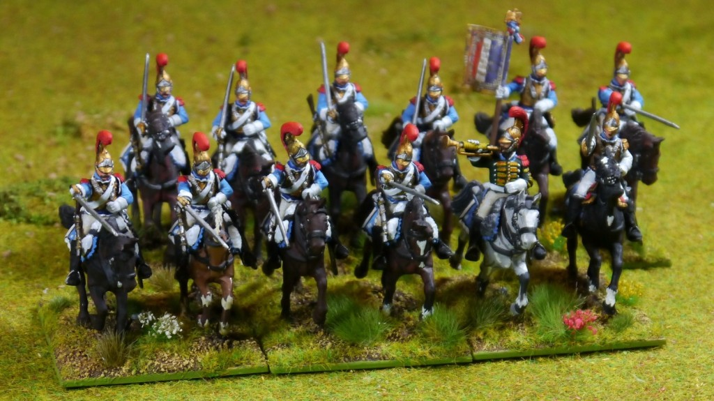 French napoleonic Carabiners (Perry Miniatures)