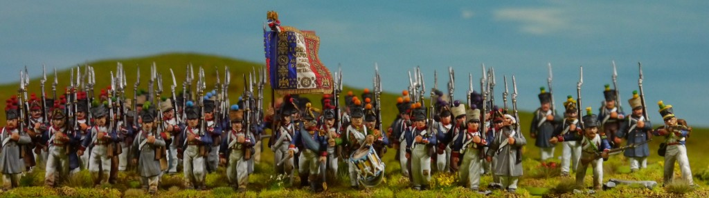 Perry napoleonic French regiments