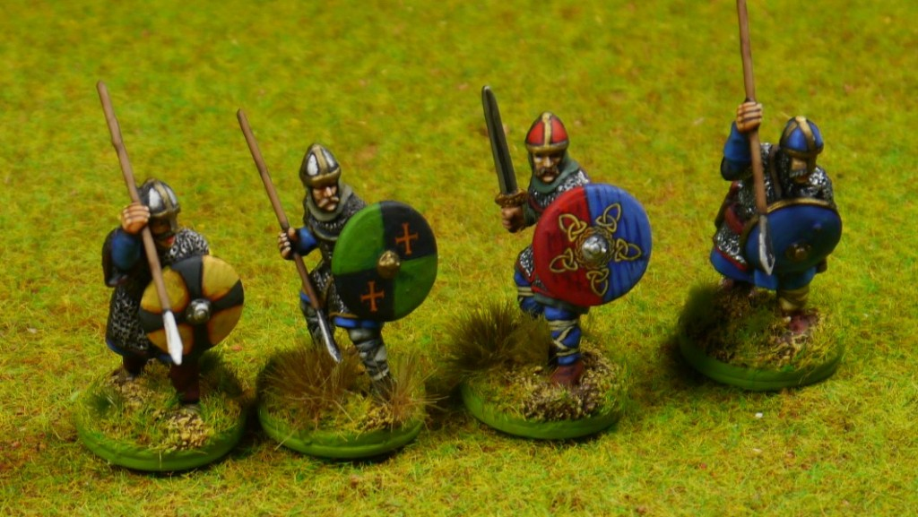 Anglo-Danish Warband for SAGA