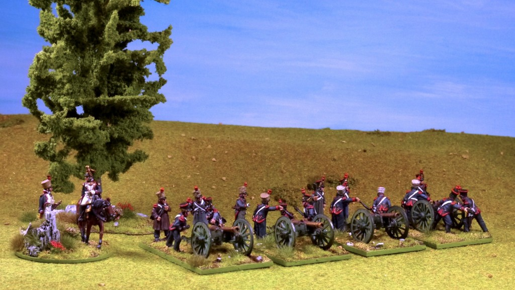 Perry French Napoleonic Foot Artillery