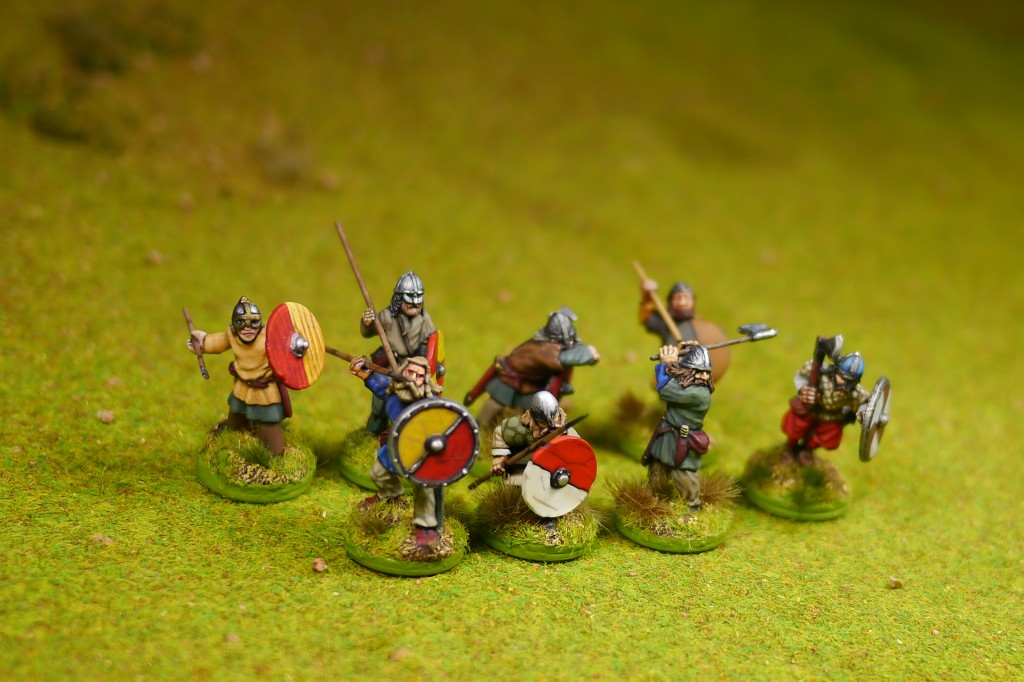 SAGA Vikings (figures from Gripping Beast and old Citadel)