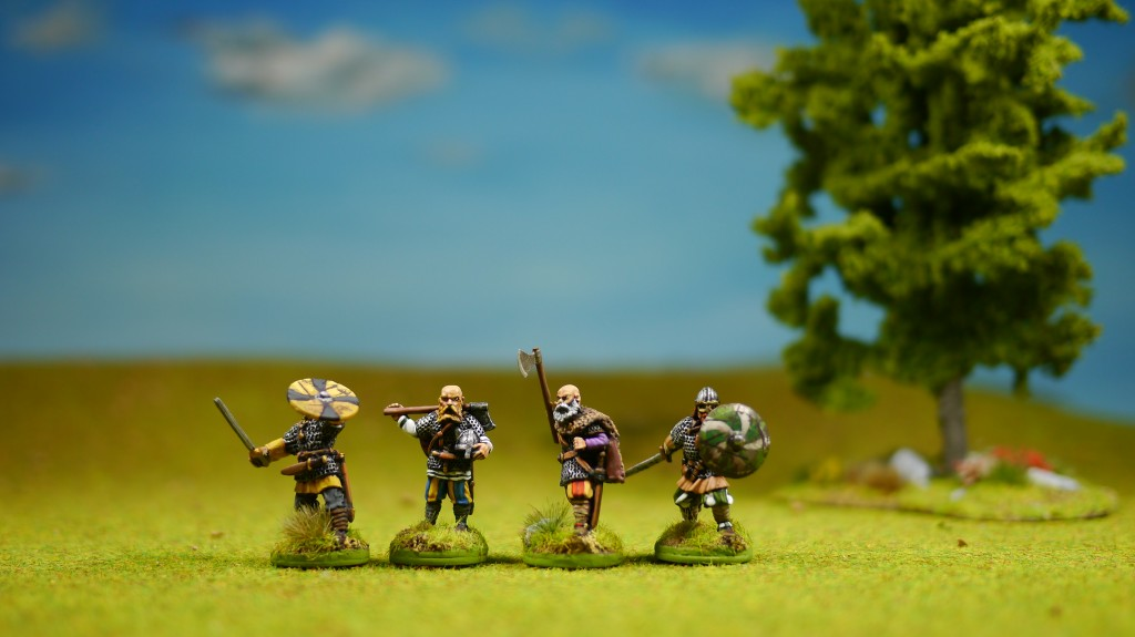 SAGA Viking Hirdmen (figures from Gripping Beast)