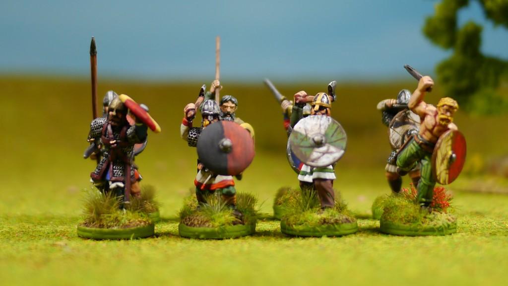 SAGA Vikings (figures from Gripping Beast)
