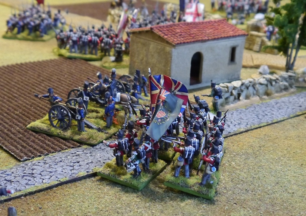 Perry Miniatures British artillery