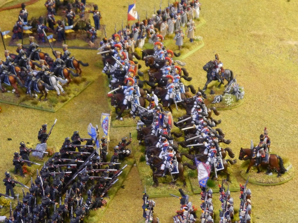 The charge of Perry carabiners and cuirassiers