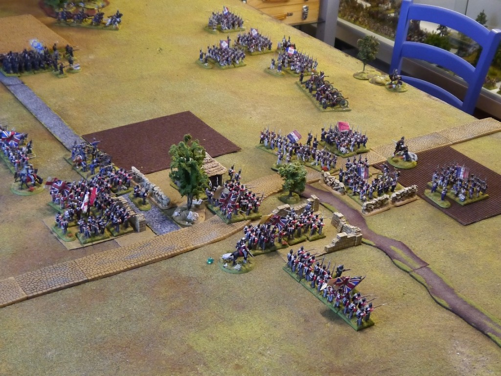 Perry Miniatures Brunswickers setting out for battle