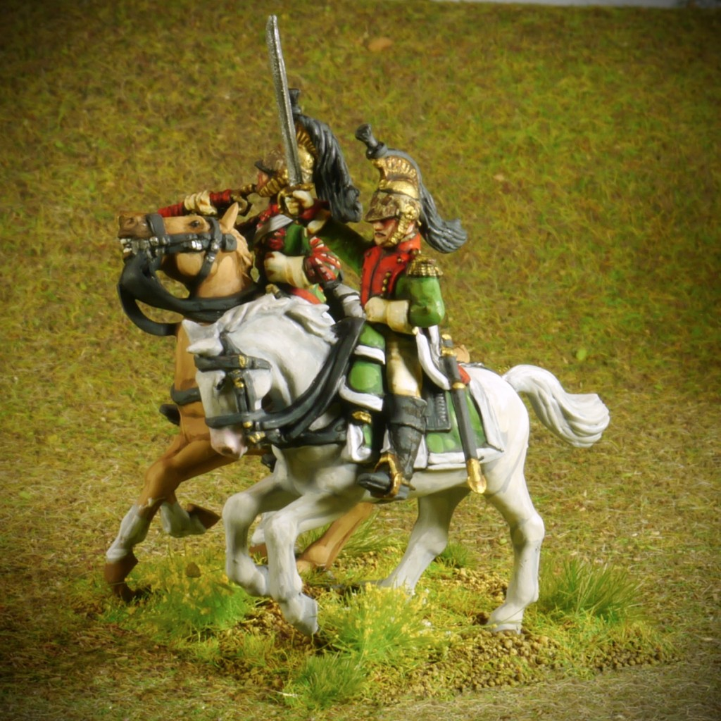 Perry Napoleonic French Dragoons Command
